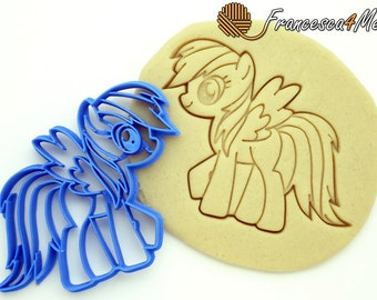 Rainbow Dash My Little Pony Cookie Cutter - Multi-Size