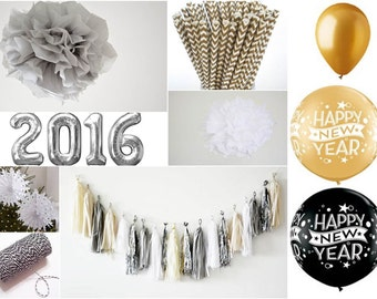 new years eve party decor kit  special offer - new years party, party decor