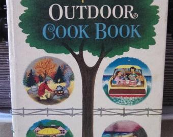 vintage betty crocker outdoor cookbook 1961