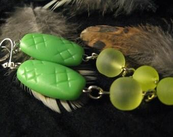 Earrings: Rave Gator