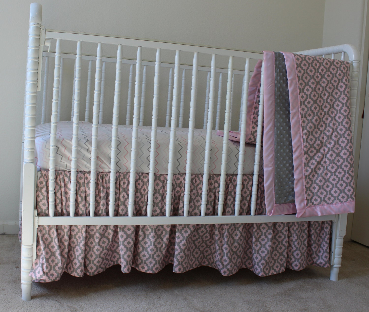 final design of your own baby bedding | Design Your Own Baby Bedding with our help Gray by ...