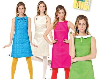 Simplicity Sewing Pattern 1609 Misses' Jiffy 1960's Vintage Dress