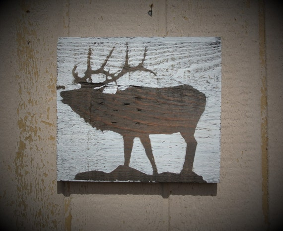 Hunter Gift Rustic Wall Decor Farmhouse Sings Reclaimed Wood Decor Elk Decor  Elk Bugle Bugling Elk - Hunter Gift Rustic Wall Decor Farmhouse Sings Reclaimed Wood