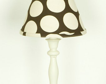 Raspberry Dot Lamp and Shade