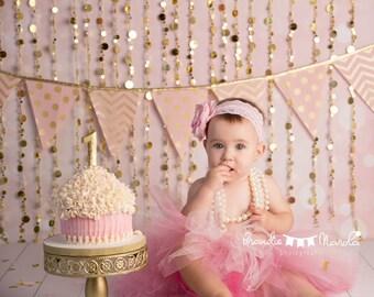 4ft.x4ft. Princess Pink Bokeh Photography Backdrop