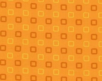 Fabri-Quilt Rock the Boat Orange Fun Squares        #100-244
