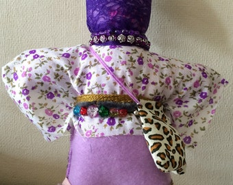 Handmade OOAK voodoo doll. Mims the doll of Love and Emotion