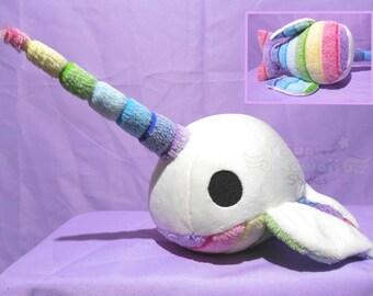 Rainbow Narwhal Plush
