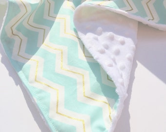 New Chevron Baby Blanket