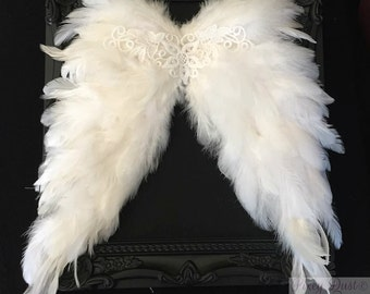 Feather wings handmade newborn baby photography prop