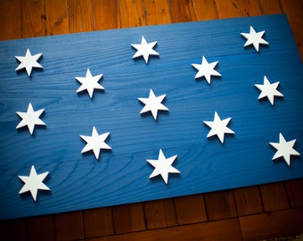 Washington Headquarters Wood Flag, Washington Flag, George Washington, American Wood Flag, US Flag, US Wood Flag, Wooden Flag, Wall Art