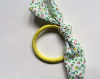 Vintage Hair Accessories- Vintage Knot Pony Tail Holder- New for BACK TO SCHOOL 2015- Vintage #1