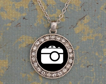 Film Photography Round Necklace
