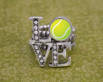 LOVE Tennis Stretchy Ring