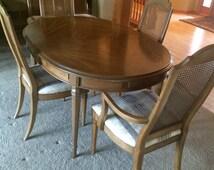 Esperanto Drexel Dining Room Set 1960 S 6 Chairs 3