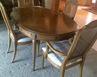 Awesome Esperanto Drexel Dining Room Set, 1960u0027s, 6 Chairs, 3
