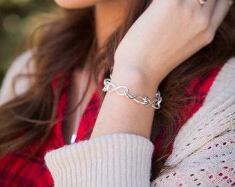 Always and Forever Sterling Silver Bracelet