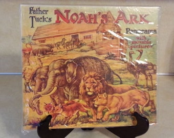 Father Tucks NOAHS ARK PANORAMA 1977 Edition Pop Ups New Original Packaging