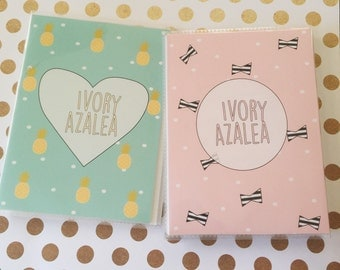 Pineapple and Bows Planner Sticker Book