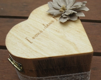 Door-alliance box heart wood range |mariage country chic|