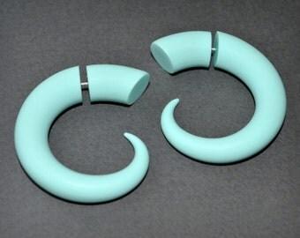 Fake Gauge Earrings, Talon Gauge Earrings or Split Gauge Earrings, Tribal Style, Fakers - Faux Gauges