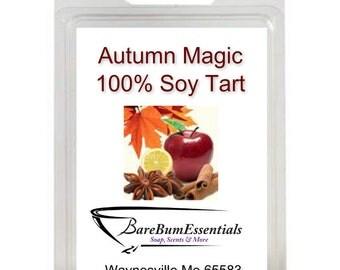 Autumn Magic Soy Tart Melts, Wax Tarts,  Soy Melts Wax Tarts, Scented Soy Wax Melts, Soy Tarts, Soy Melts, Wax Tarts, Candle Melts