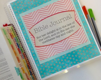 Bible Journal - Blue Floral