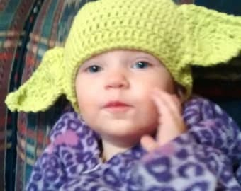 Little Yoda Beanie Hat for babies