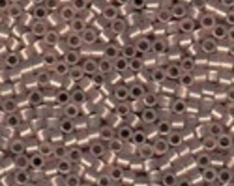 MIYUKI #11 Delica 0191 - Copper Lined Opal - 5 grams