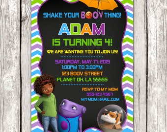 Home Invitation - Almost Home Birthday Party - DIY Printable