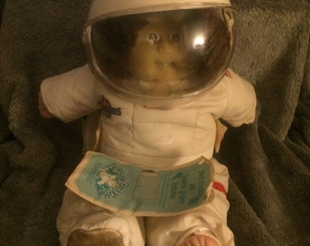 Vintage 1986 Astronaut Cabbage Patch Doll