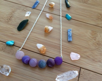 Tumbled Agate Necklace