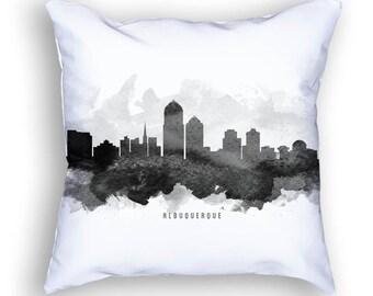 Albuquerque Pillow, 18x18, Albuquerque Skyline, Albuquerque Cityscape, Albuquerque Decor, Cushion Home Decor, Gift Idea, Pillow Case 11