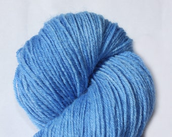 Hand dyed 4ply British Yarn - Cloudless Day