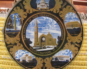 The Shrine of the Immaculate Conception Plate