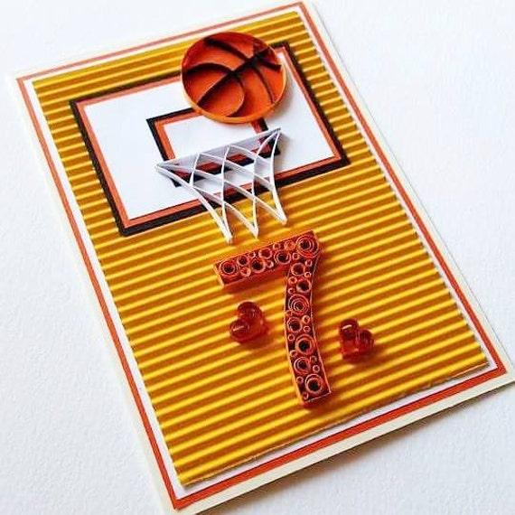 basketball birthday card happy birthday card basketball, Birthday card