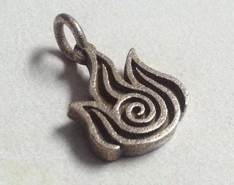 Avatar The Last Airbender Fire Nation Stainless Steel 3D Printed Jewelry Pendant