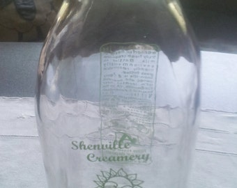 Shenville Creamery Milk Bottle