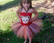 Inspired by Daniel Tiger Tutu Dress with Ears   *Daniel Tiger Inspired