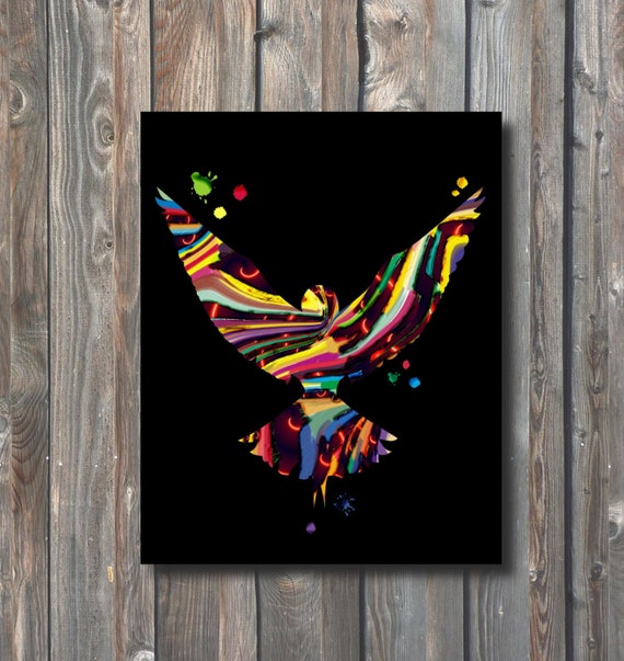 Items Similar To PRINTABLE Phoenix Wall Art-Printable Home