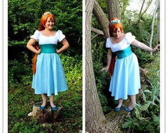 The tiny Thumbelina cosplay costume thumbelina cosplay dress halloween women costume