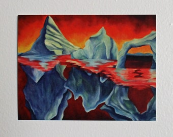 Art Card- Icebergs