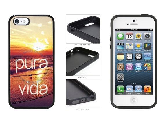 Pura Vida - Pure Life At Sunset Phone Case - iPhone 4 4s 5 5s 5c 6 6 ...