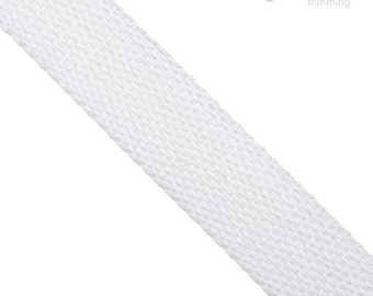 25mm Cotton Webbing :360003WB