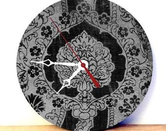 Boho Wall Decor - Tapestry Wall Art - Home Decor Wall Clock - Medieval Art Clock - Vintage Wall Clock - Home Decor Wall Art - Sku CK-018