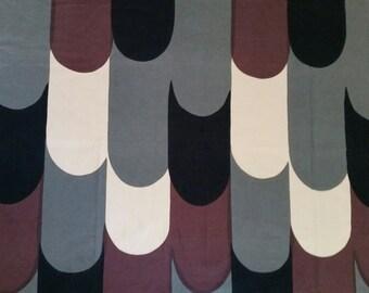 Marimekko fabric panel 1967 Maija isola nostosilta