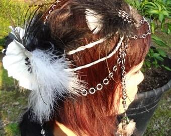 Silver Priestess Headdress