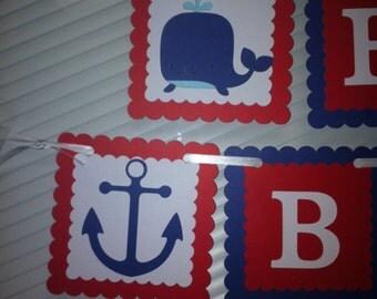 Nautical banner