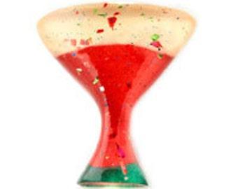 Holiday Martini Glass  (12pcs)