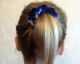 Crochet Hair Scrunchies - Crochet Hair Accessories - Crochet Hair bands - Crochet Hair Ties